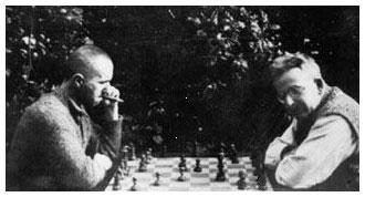 Bertolt Brecht og Walter Benjamin